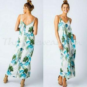 💌HP💌Tropical Print Maxi Dress